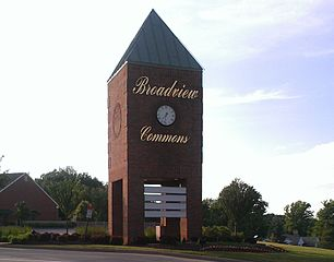 Broadview Common Shopping Complex in Broadview Heights, Ohio
